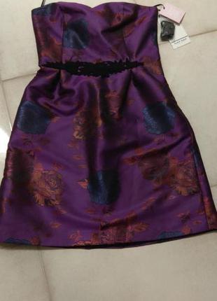Красивейшее коктейльное платье naf-naf