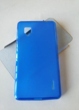 Силиконовый чехол для LG Optimus G E975