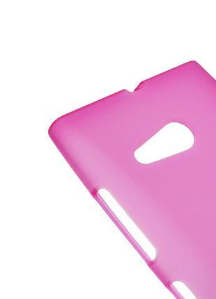 Силиконовый чехол для Nokia Lumia 730