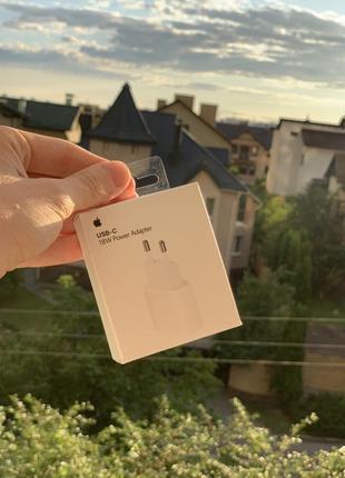 Быстрая зарядка к iPhone Apple Adapter Power charger 18w