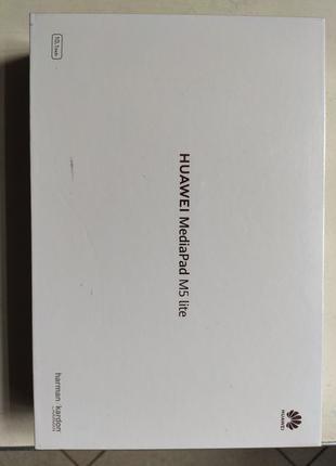 Планшет HUAWEI MediaPad M5 Lite 10 3/32GB Wi-Fi Black