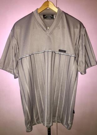 Серая мужская футболка от emporio armani