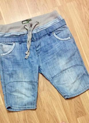 Мужские джинсовые шорты no fear