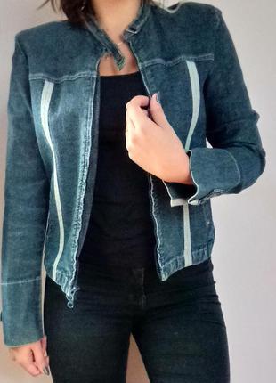 Куртка жіноча джинсова amazing/куртка женская джинсовая