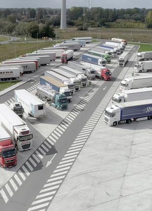 Сыпучие материалы для строительства стоянок грузовых авто