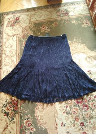 Шикарная, шифоновая летняя юбка большого размера