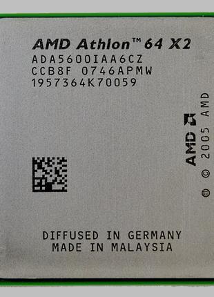 AMD Athlon x2 5600+ 2,8 ГГц, сокет AM2