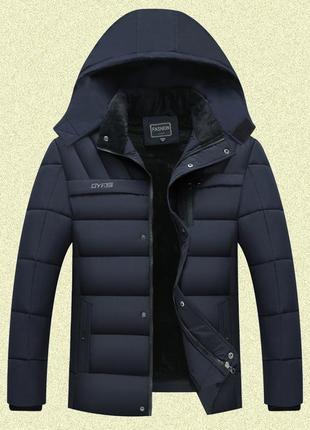 Мужская зимняя куртка на меху gyfs