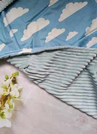 Плед детский, одеяло детское, конверт на выписку, плед Minki