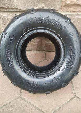 Покрышка, резина, шина, скат 16X8.00-7 для квадроцикла