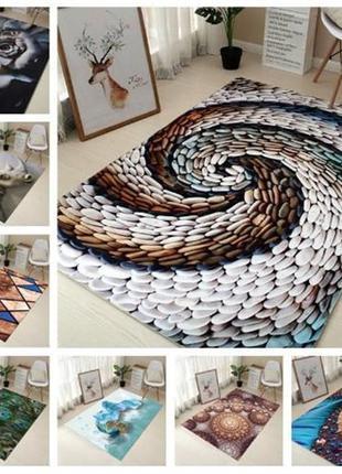 Придверный коврик с 3D рисунком