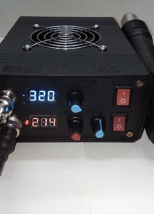 Паяльная станция HandsKit 868 (с феном и паяльником на жалах t12)