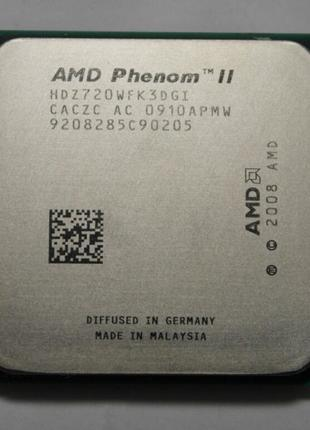 AMD Phenom II X3 720, AM3