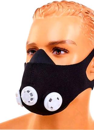 Тренировочная маска ЧЕХЛОМ для спорта,для бега,тренировок,кислоро