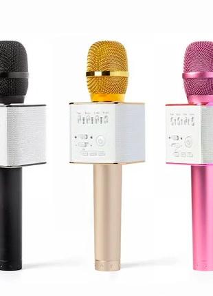 Беспроводной стерео караоке микрофон с динамиком - Microphone Q9