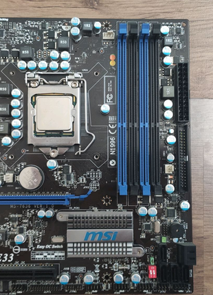 Intel i5 760 + h55 msi + 2 gb