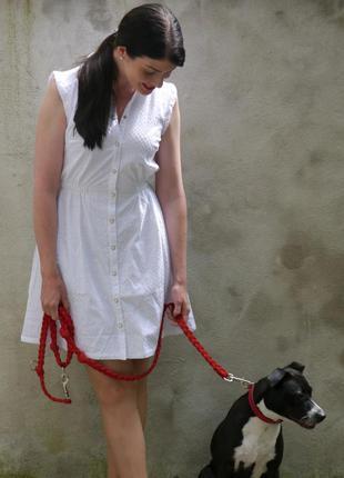 Mint&berry: платье-рубашка из прошвы