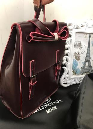 Кожаный рюкзак. рюкзак с натуральной кожи