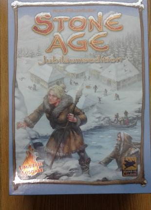 Настольная игра Stone Age Anniversary юбилейное изд Каменный век
