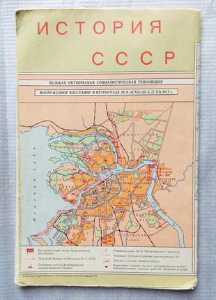 История СССР на картах (карты физические)