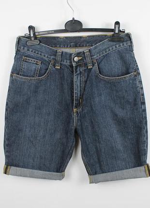Качественные джинсовые шорты carhartt