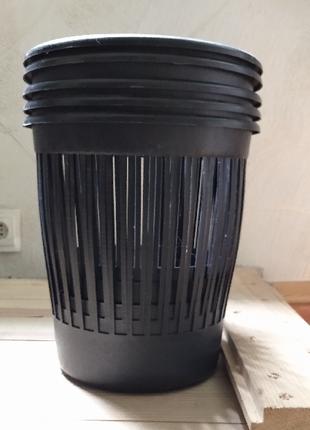 Ведро (корзина) мусорное пластиковое офисное