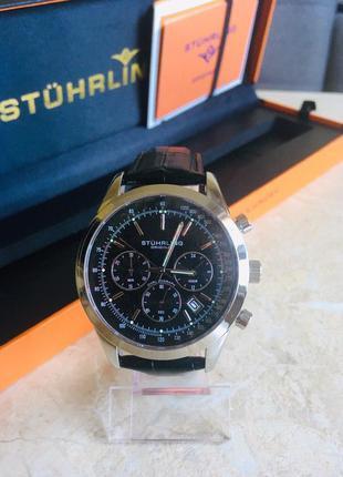 Наручные часы хронограф Struhling Monaco оригинал