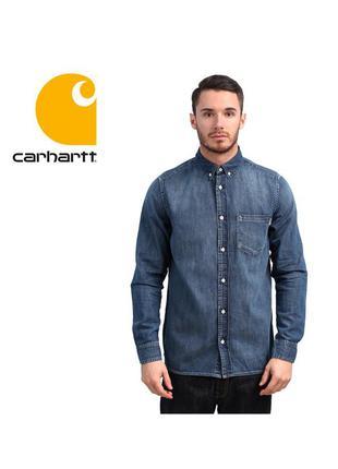 Рубашка carhartt wip long sleeve civil shirt - l