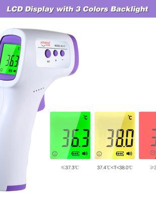 Термометр бесконтактный инфракрасный градусник (тело/предметы)