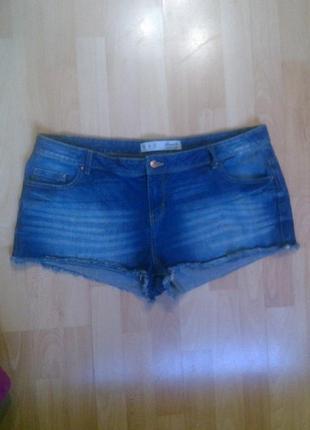 Фирменные джинсовые шорты denim co