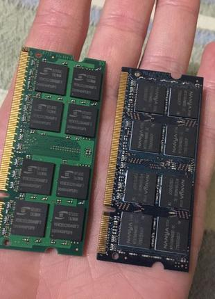 Оперативка, память, MacBook A1881, 1Gb, 2штуки, оперативная па...