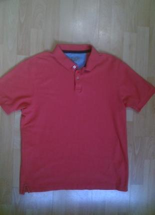 Фирменная футболка тениска поло m