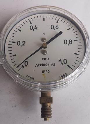 Манометры ДМ-1001, МП-3у, МТП-100, МТП-СД,  МТП-1м