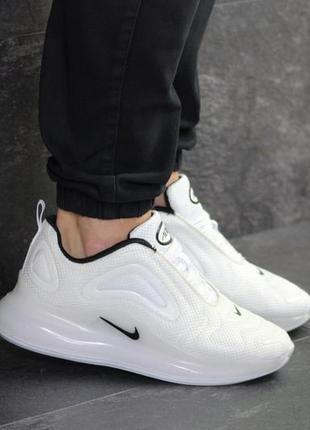 Мужские кроссовки nike air max 720 (белые)