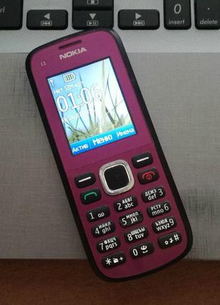 Nokia C1-02 Violet.