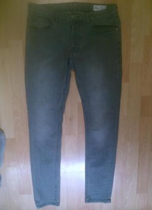 Фирменные джинсы скинни 34 р.