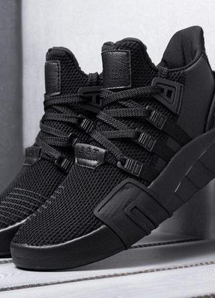 Кроссовки adidas eqt basketball adv total black