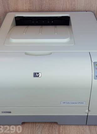 HP Color LaserJet CP1215 Цветной принтер, практически новый.