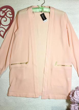 Новый с биркой пиджак накидка  кардиган лёгкий selected femme ...