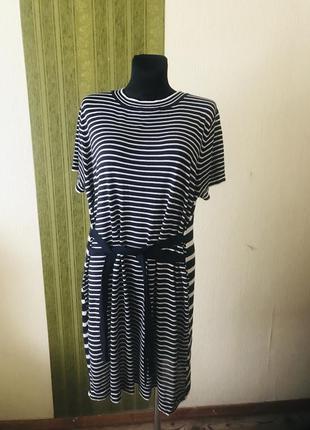 Супер платье туника из тонкого трикотажа