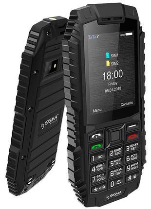 Мобильный телефон Sigma X-treme DT68 Black. Гарантия