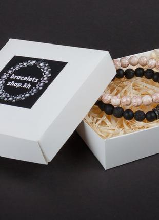 Парные браслеты   браслеты из натуральных камней