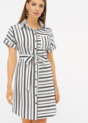 Летнее платье - рубашка * отличное качество
