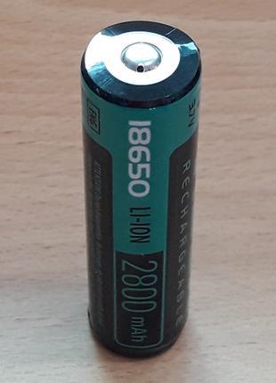 Аккумулятор 18650 литиевый Videx 2800mah с защитой