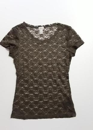Фирменная блуза ажурная