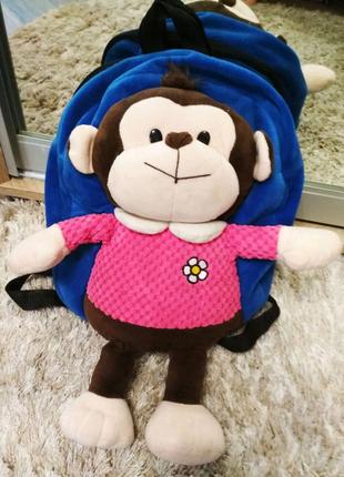 Детский рюкзачок-игрушка