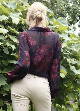 Сорочка/блуза напівпрозора
