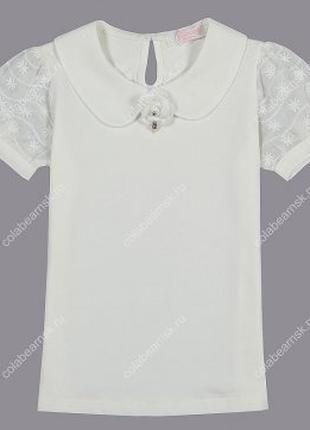 Трикотажная блузка Colabear на девочку 122-154р