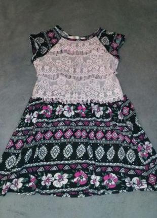 Платье на девочку 6-8 лет
