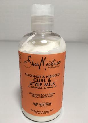 Shea Moisture Coconut & Hibiscus Curl & Style  для кудрей